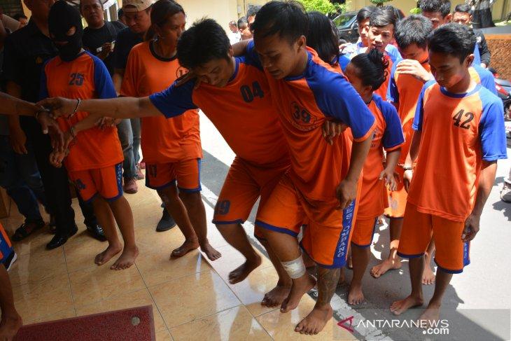Ungkap kasus narkoba di Jombang