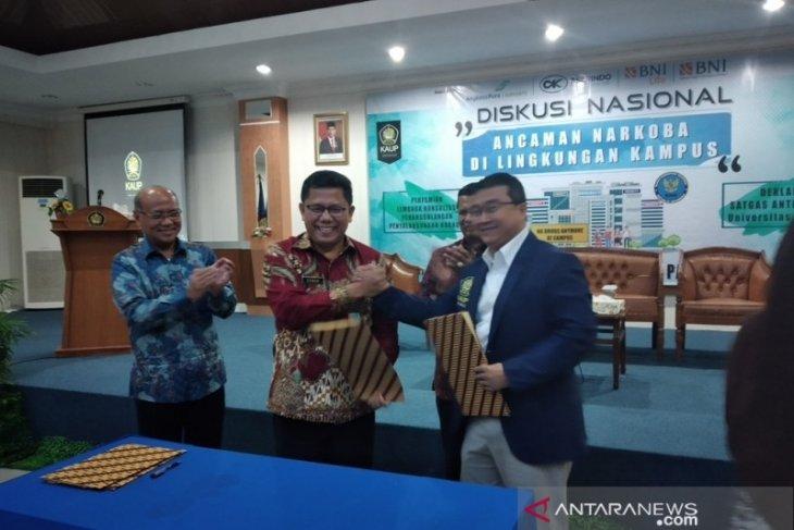 Alumni Universitas Pancasila gerakkan kampus antinarkoba
