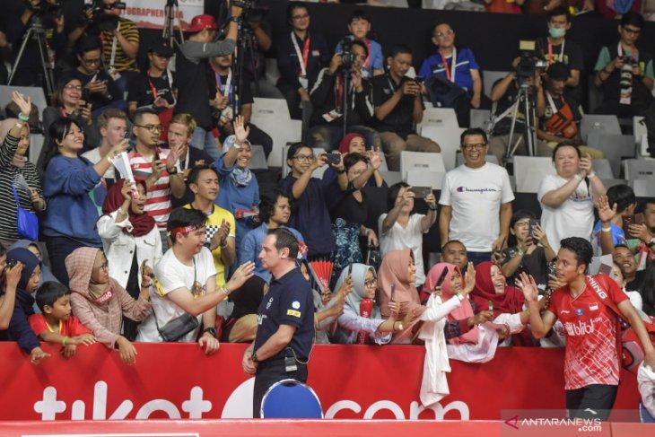 Wasit asal Uganda hilang tas saat turnamen Indonesia Masters 2020