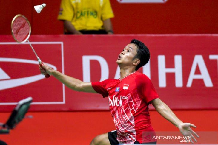 Indonesia Master, Anthony Ginting rebut gelar juara