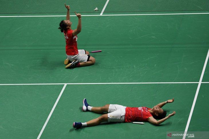 Greysia/Apriyani juara Daihatsu Indonesia Masters