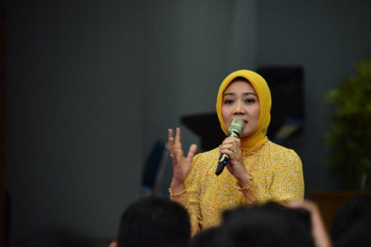 Atalia Kamil dan ratusan ketua OSIS Jabar deklarasi tolak radikalisme