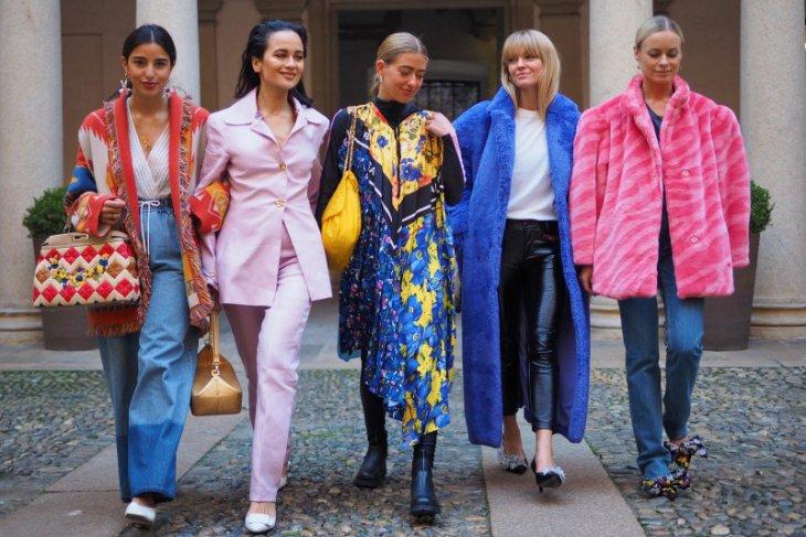 Tren fesyen kini, berani, inklusif, dan menuju