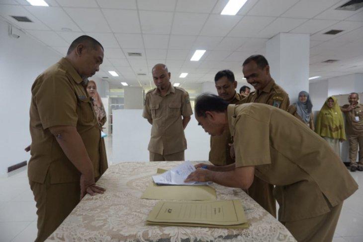 Pejabat DKISP Paser Tanda Tangani Pakta Integritas