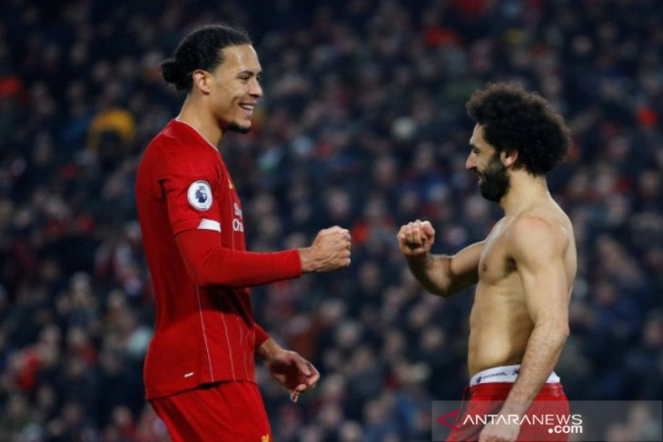 Liverpool bungkam Manchester United 2-0 di Anfield