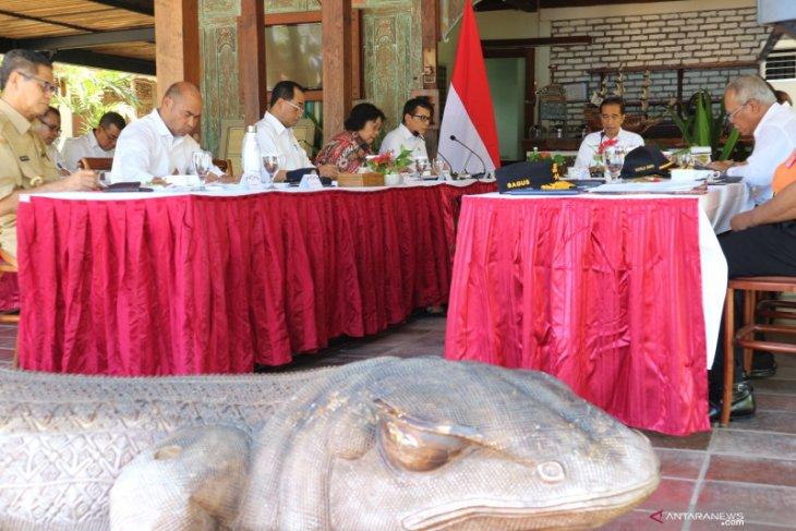 Jokowi persiapkan Labuan Bajo jadi destinasi wisata