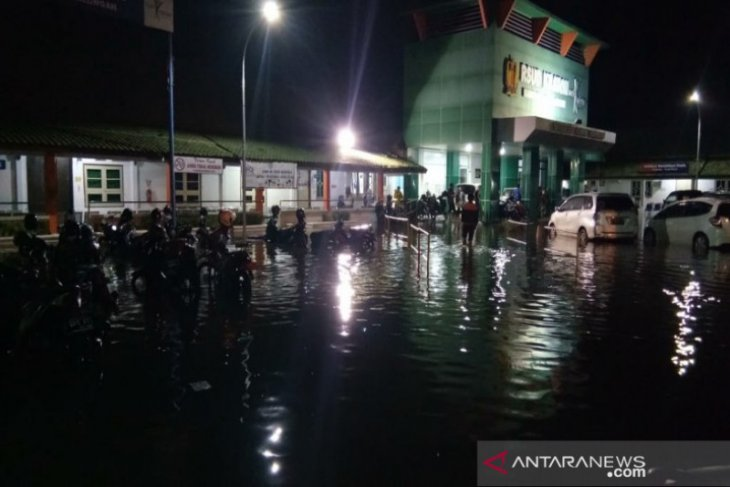 Torrential rains trigger flooding in Pekalongan, Central Java