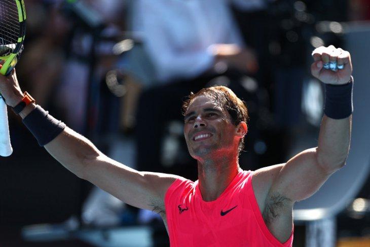 Australia Terbuka: Lolos babak kedua, Nadal ingin tambah koleksi gelar