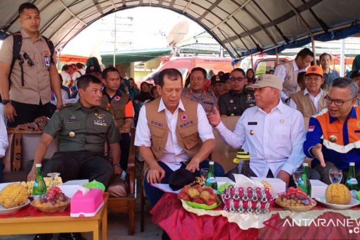 Danrem 091/ASN Dampingi Kunjungan Kepala BNPB ke Samarinda