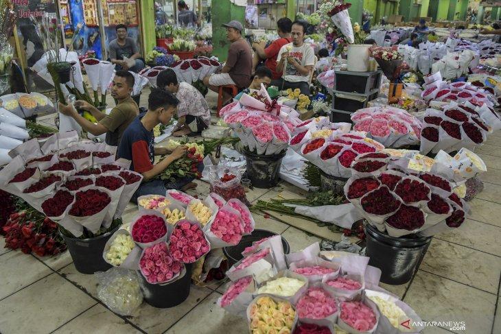 Penjualan bunga hias