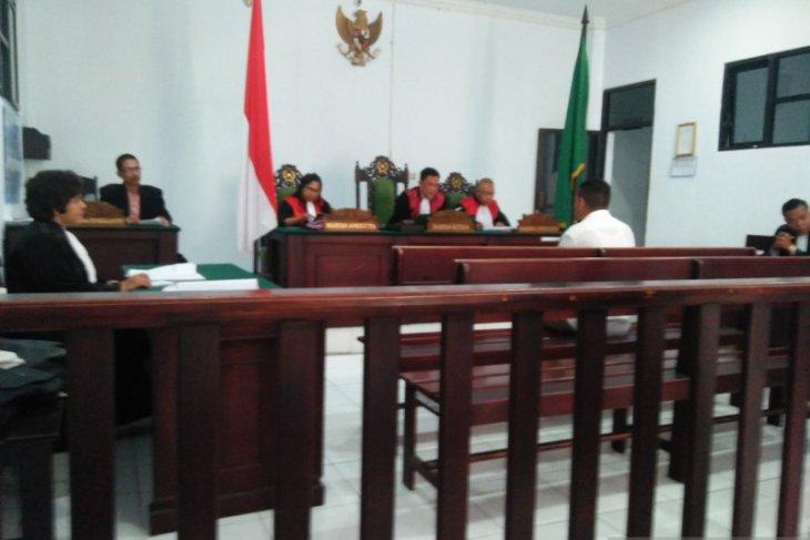 Hakim PN Ambon vonis terdakwa penjual sabu lima tahun penjara