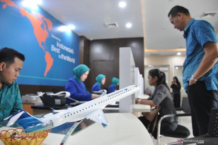 Menyambut Imlek, belum ada lonjakan jumlah penumpang Garuda Indonesia