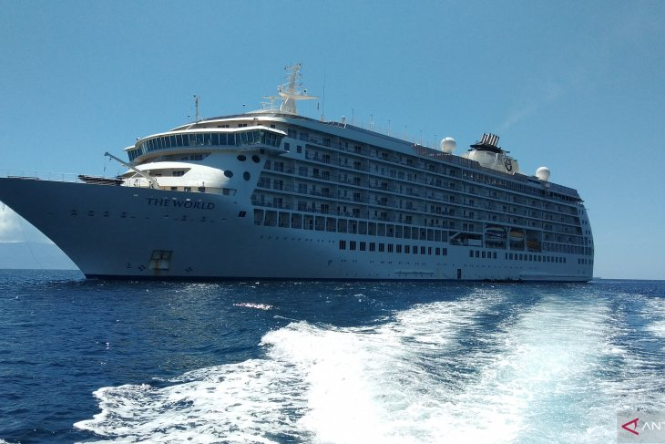 Cruise ship visits to Raja Ampat yet to contribute significantly
