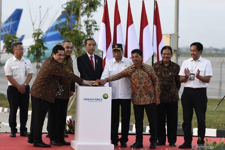 Presiden resmikan landasan pacu tiga Bandara Soekarno Hatta