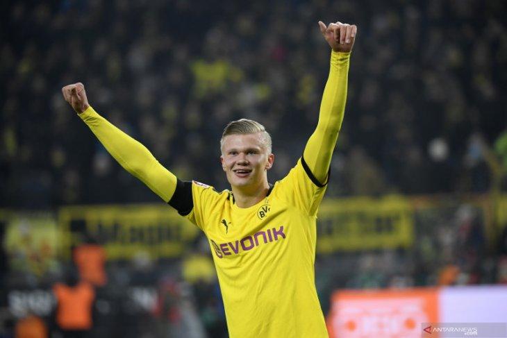 Dwigol Haaland bantu Dortmund hajar Koln 5-1