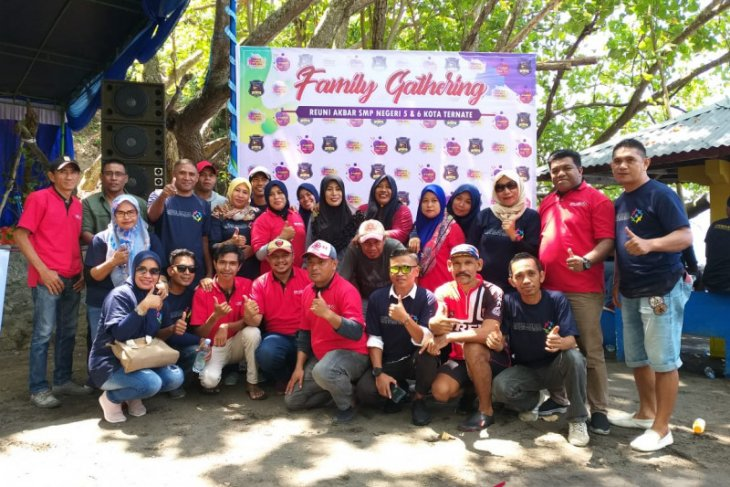 Abdul Fatah Pimpin IKA-Alumni SMPN 5-SMPN 6 Ternate