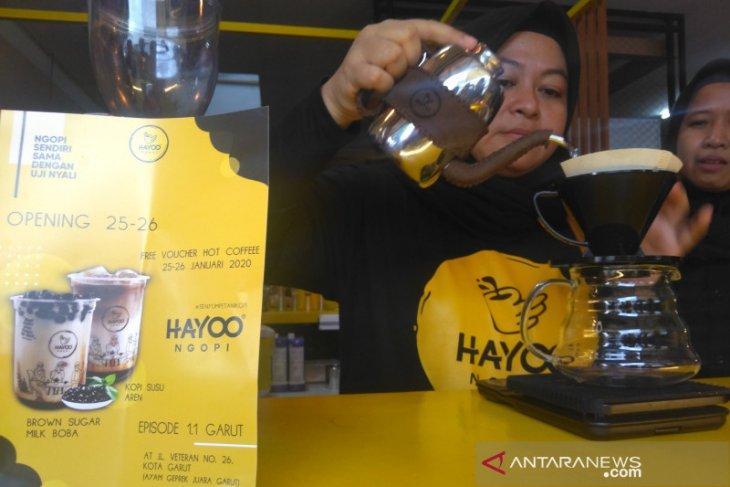 Hayoo Ngopi siap populerkan kopi khas Garut dengan gula aren ke berbagai kota