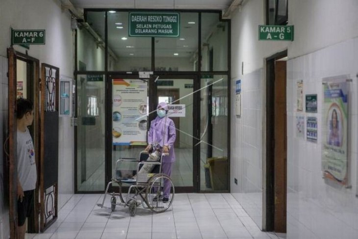Ruang isolasi untuk pasien terduga terjangkit virus corona
