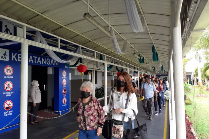 127 wisatawan asal China dipulangkan ke negara asal via Batam