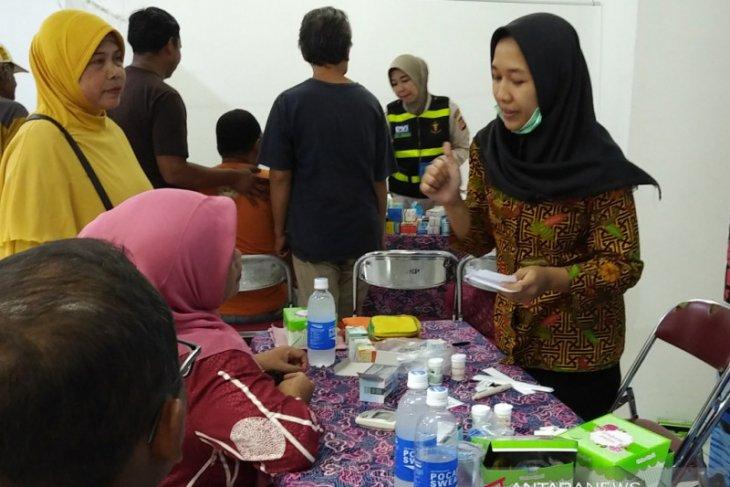 Polresta, Jasa Raharja dan Mall BTM Kota Bogor gelar pengobatan gratis