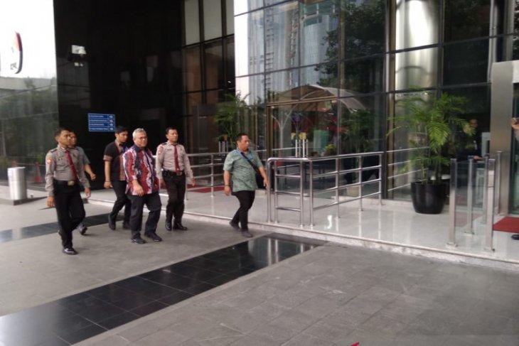 Kasus suap, Ketua KPU Arief Budiman penuhi panggilan KPK