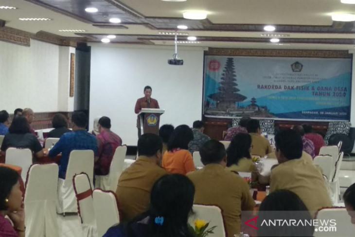 Ditjen Perbendaharaan Bali dorong akselerasi penyerapan DAK Fisik 2020