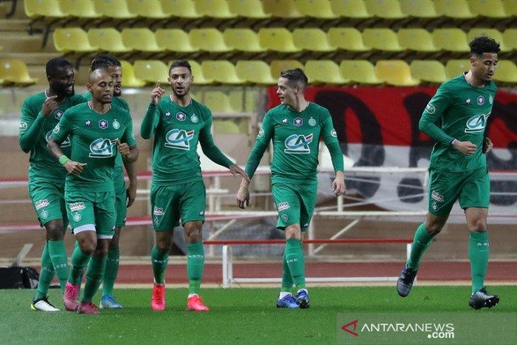 Piala Prancis, Saint-Etienne ke perempat final usai singkirkan Monaco 1-0