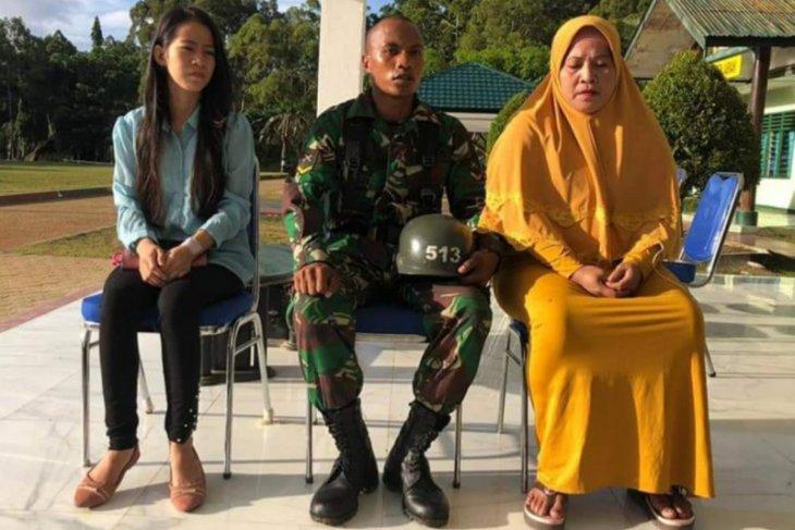 Siswa Secaba TNI penyelamat korban tenggelam terima penghargaan