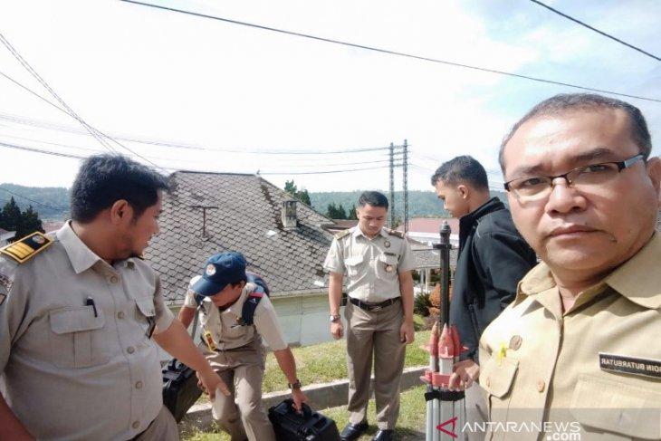 BPN ATR Taput ukur lahan RSUD Tarutung untuk penyertifikatan