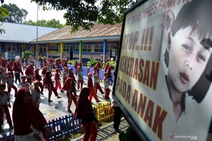Tragis, bocah di Aceh Utara ini disiram air panas oleh ayah tiri