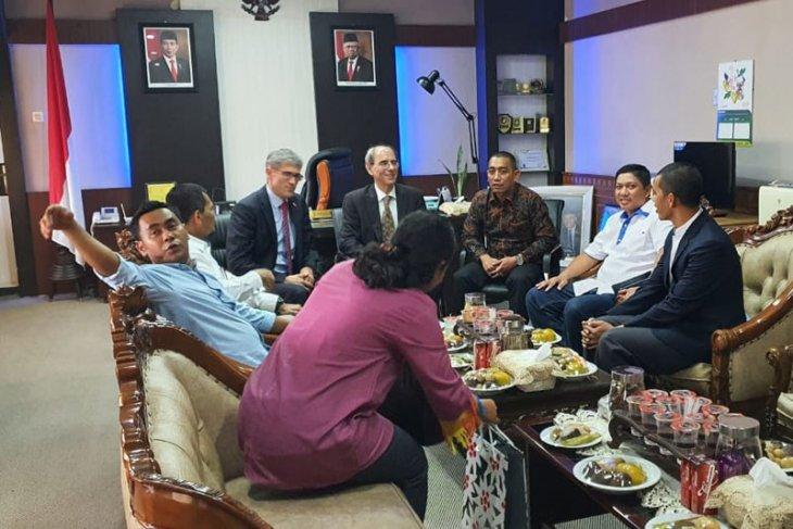 Ketua DPR Aceh dan Dubes Swiss gelar pertemuan tertutup
