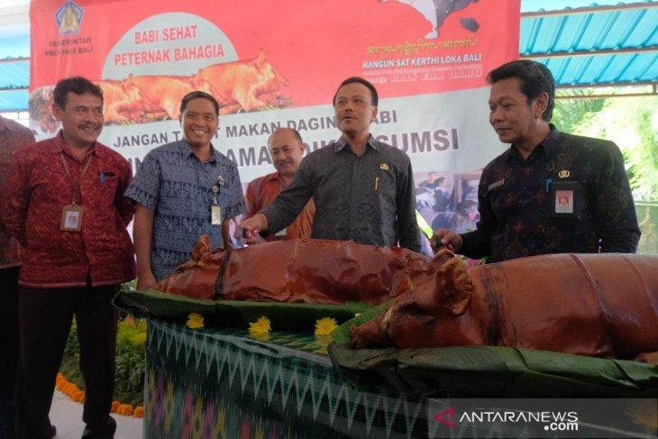 Sekda Bali yakinkan daging babi aman dimakan
