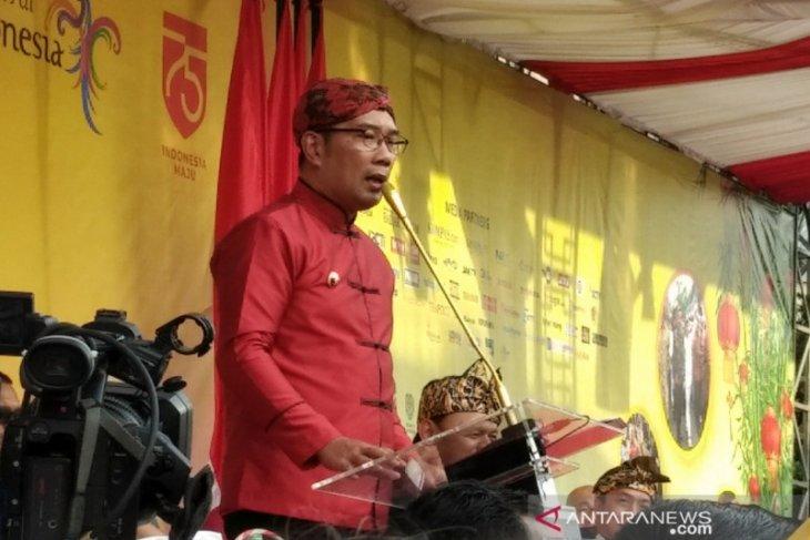Ridwan Kamil: Bogor Street Festival berikan banyak pesan moral