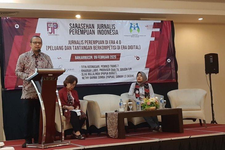 FJPI – KP3A bahas tantangan jurnalis perempuan di era 4.0