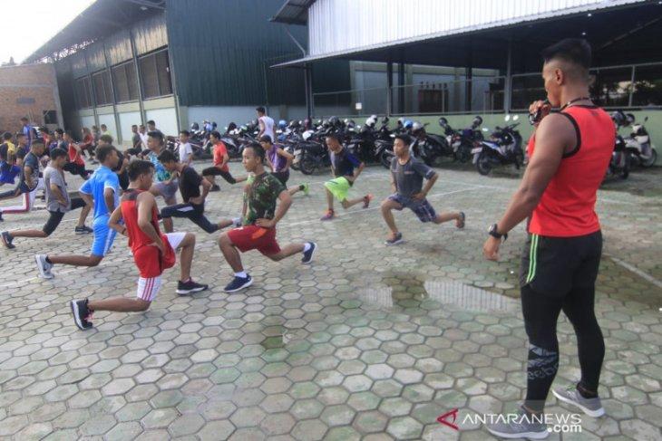 Korem 091/ASN galakkan olahraga