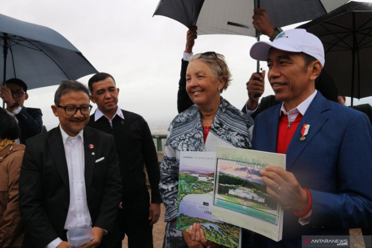 Jokowi is upbeat about capital city relocation in 2024