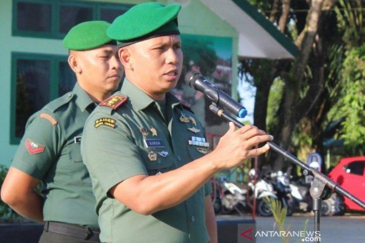 Kodim Nagan Raya intruksikan prajurit TNI kampayekan cegah Karhutla
