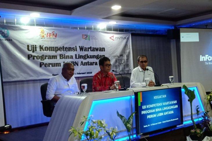 Dirut ANTARA buka Uji Kompetensi Wartawan