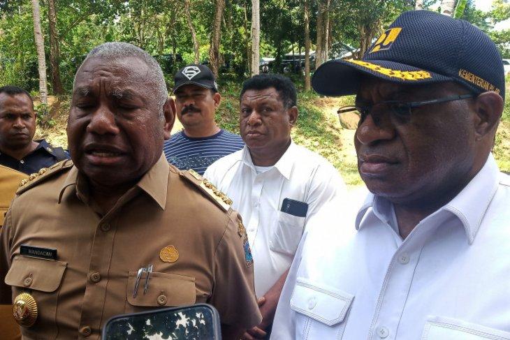 Pemprov Papua Barat siap bebaskan lahan pembangunan jembatan Mansinam