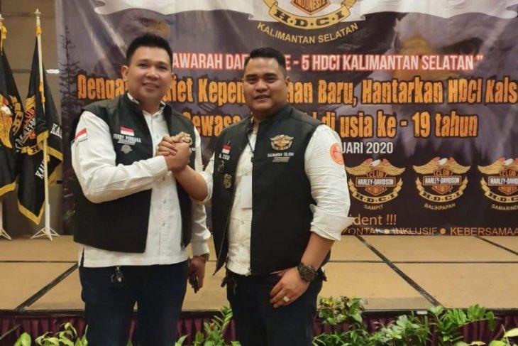 HM Zikri  Wakil Ketua  Pengda Harley Davidson Club Indonesia