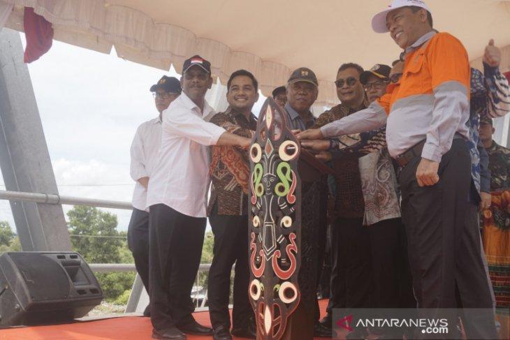 Menteri PUPR Resmikan 4 Proyek CSR di Tapin