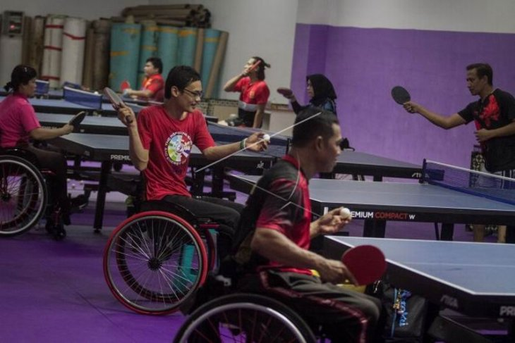 Pelatnas tenis meja ASEAN Para Games