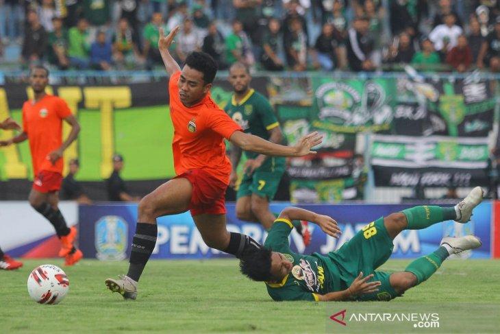 Jungkalkan Persebaya, Bhayangkara FC pimpin klasemen Grup A Piala Gubernur Jatim