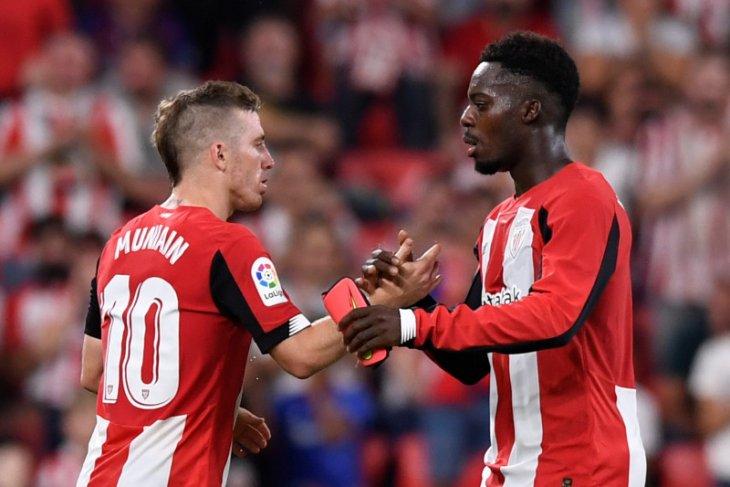 Liga Spanyol - Athletic Bilbao menang atas Granada  pada leg pertama semifinal Copa del Rey