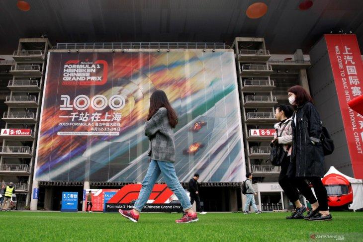Formula 1 bahas solusi selamatkan Grand Prix China akibat virus corona