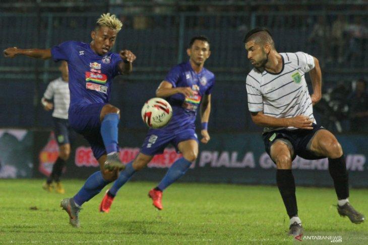 Arema vs Persija berebut juara grup Piala Gubernur Jatim