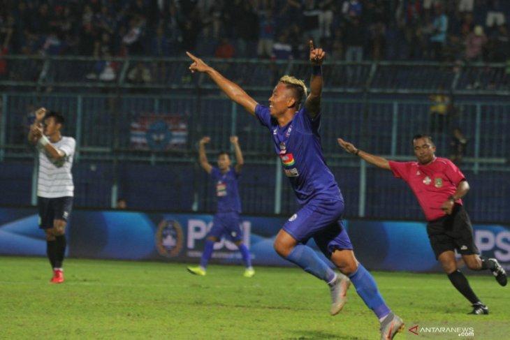 Arema FC dampingi Persija ke semifinal Piala Gubernur Jatim