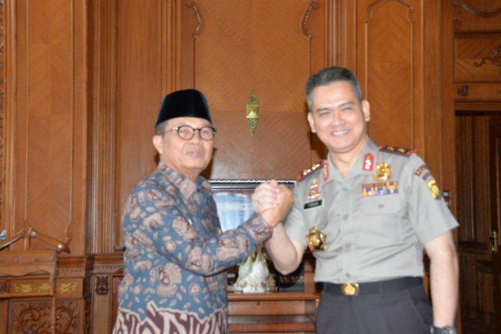 Gubernur ajak Kapolda bersinergi atasi permasalahan Jambi