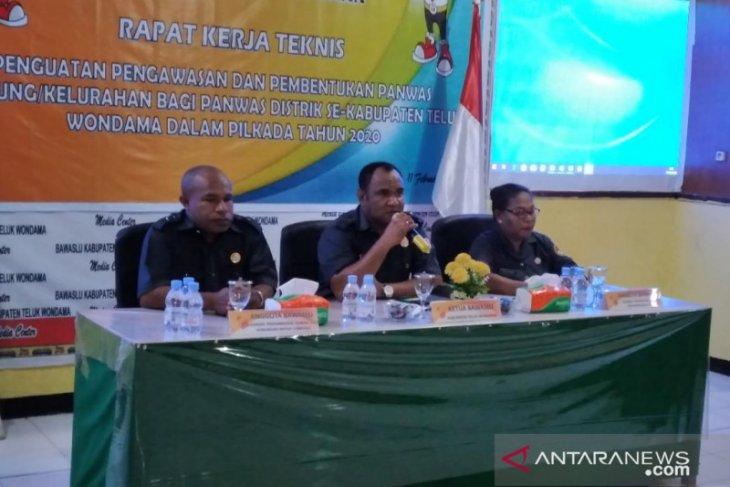 Bawaslu Wondama dukung menempatan Plt kepala daerah jelang Pilkada