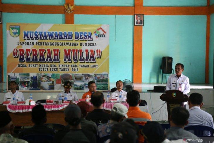 Bupati harapkan BUMDes Berkah Mulia jadi pilar pendapatan desa